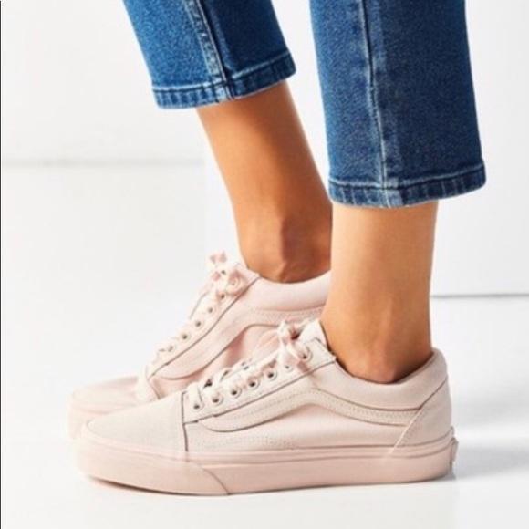 Vans Shoes | Vans Peach Blush Mono